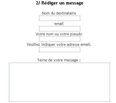 02 rédiger son message
